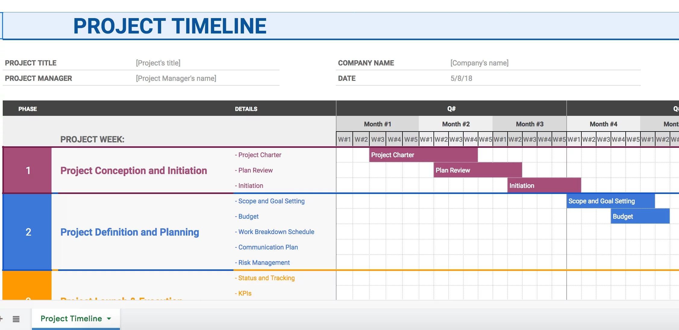 How To Make A Timeline In Docs