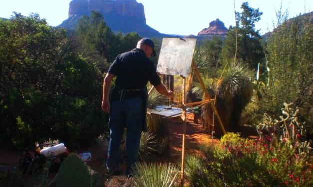 Sedona Plein Air: Out of Thin Air