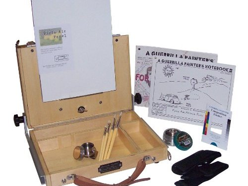 Guerrilla Painter French Resistance Oil and Acrylic Plein Air Kit, Medium