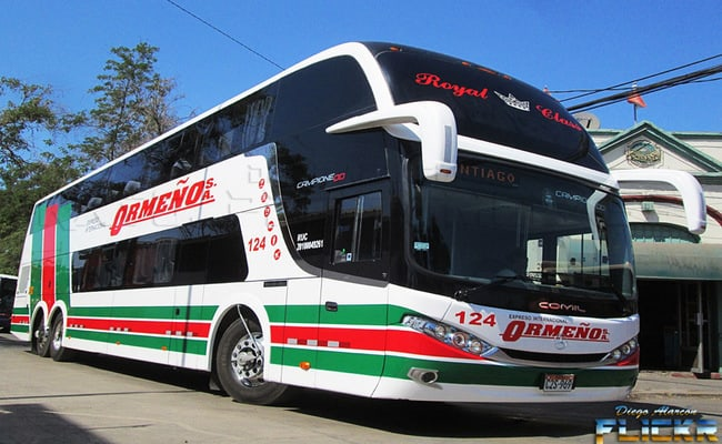 Best Bus Companies in Peru - Ormeno Bus