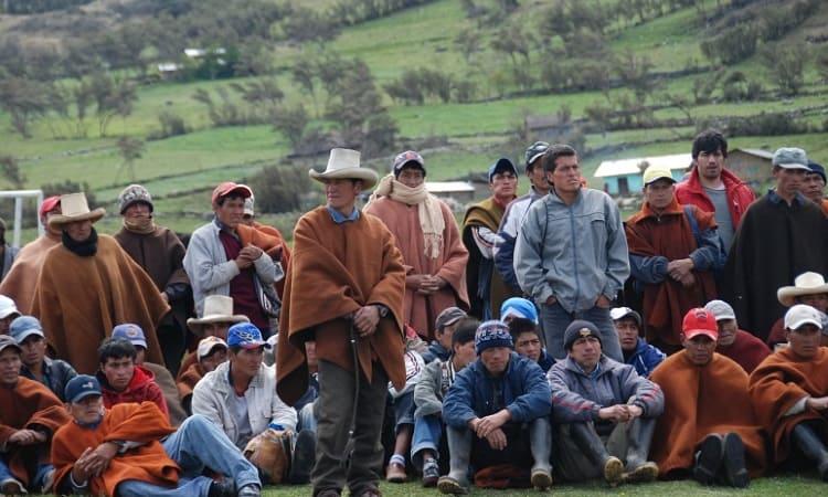 Ronda campesina in Cajamarca, Peru