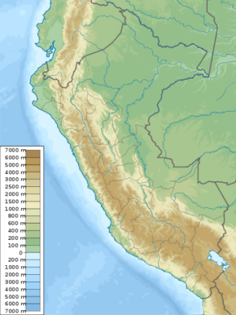San Jose Elevation Map.Peru Altitude Data And Elevation Map How To Peru
