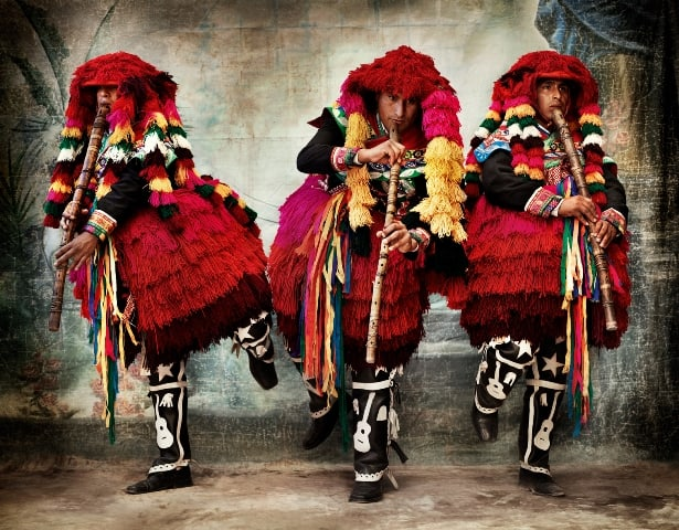 Mario Testino, traditional dress of Cusco, Peru