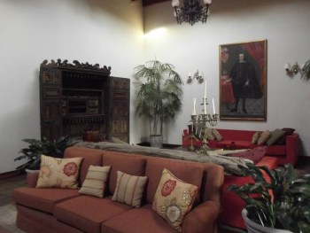 Inside the Hacienda San Jose, Chincha