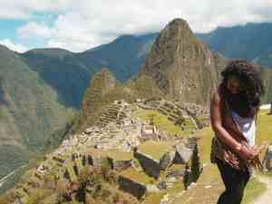 machu pichu travelling south america