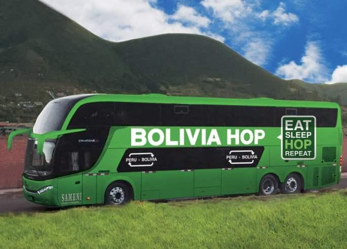 Bolivia Hop Bus