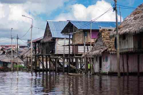 Belen village - Peru