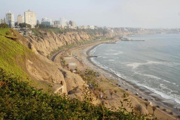 View from Malecon - Miraflores, Lima