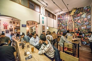Peruvian Craft Beer - Nuevo Mundo Bar