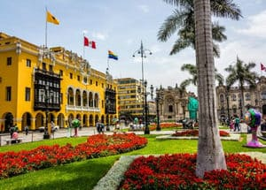 Learn Spanish in Peru - Central Plaza Lima