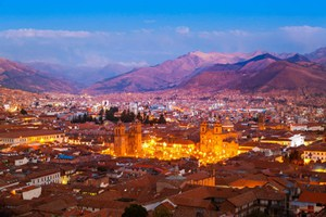 Party Hostel Cusco - View of Cusco from Wild Rover