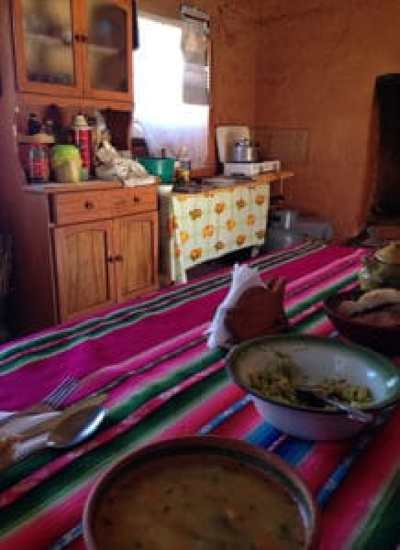 Lake Titicaca Experience - Eating lunch at a locals house