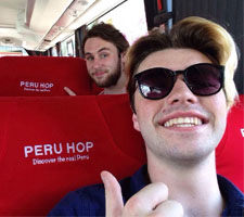Photo on Peru Hop bus