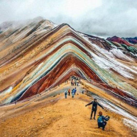 Rainbow mountain peru - picture of rainbow mountain