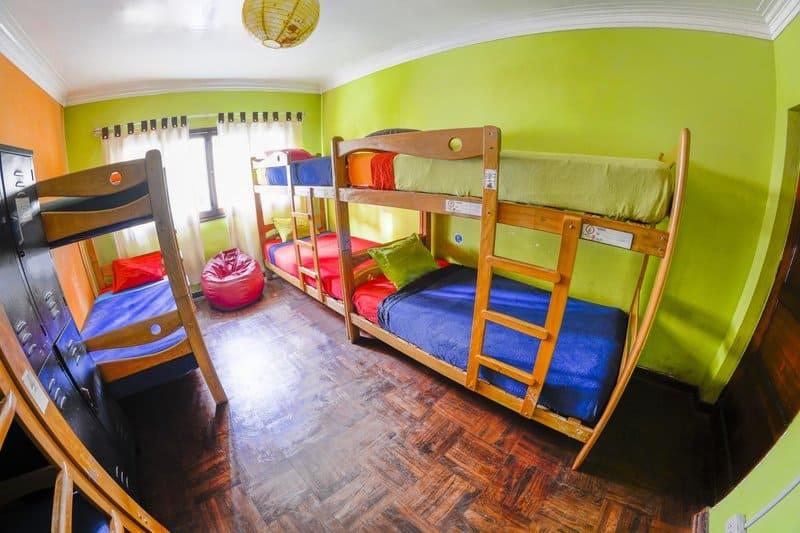 Best Hostels Lima - Dorm Room in Dragonfly Hostel