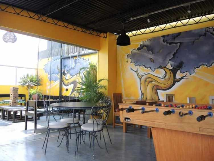 Best Hostels Lima - Puriwasi Hostel Upstairs area
