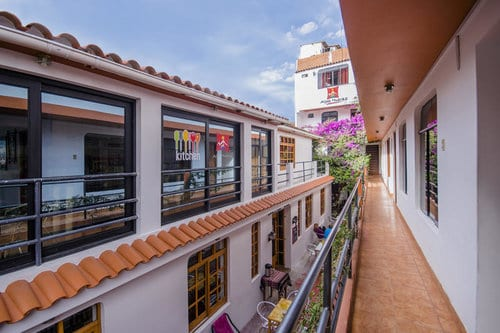 Hostal Alpes in Huaraz Peru - hostels huaraz