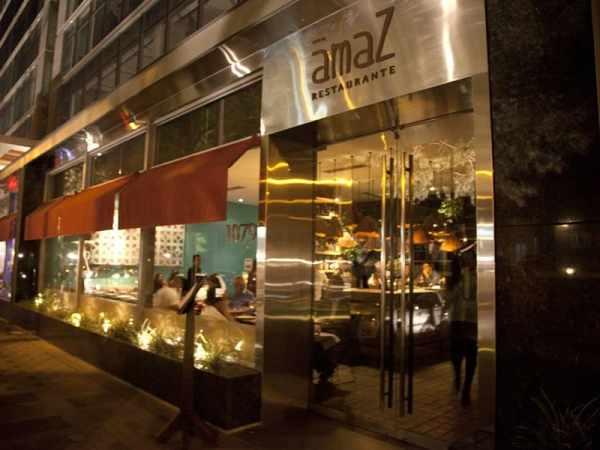 Amaz Restaurant in Miraflores Lima Peru