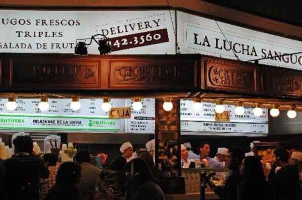 La Lucha Sangucheria Restaurant in Miraflores Lima Peru