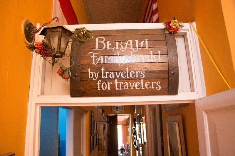 Beraja Family Hostel in Lima Peru