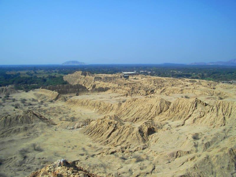 Ancient pyramids in Chiclayo, Northern Peru Túcume