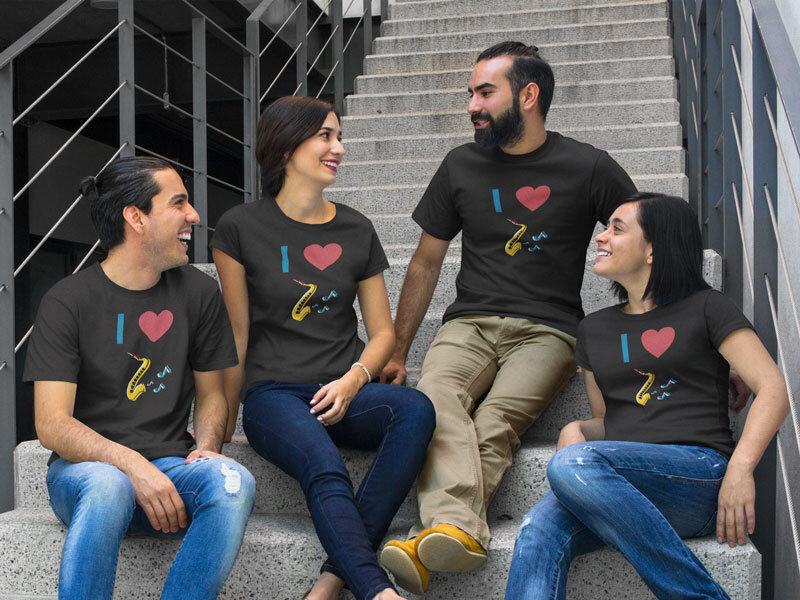 Saxophone T Shirts