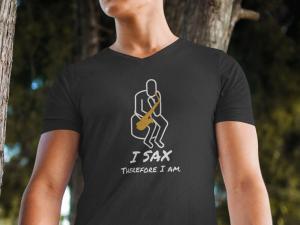 I_Sax_Therefore_I_Am_Tshirt