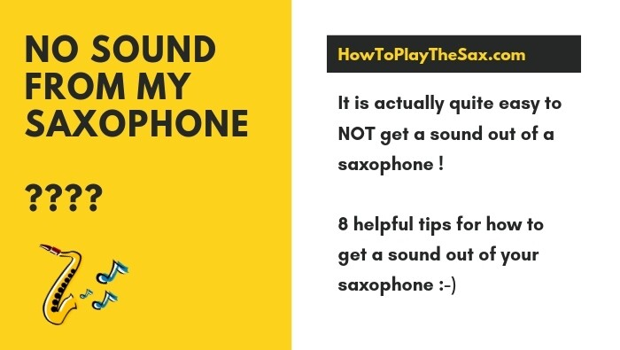 No Sound From My Saxophone