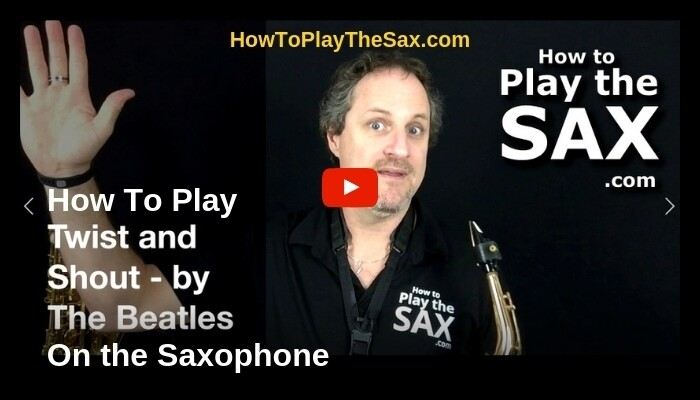 How To Play Twist And Shout on the Saxophone
