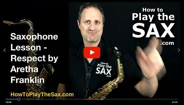 How to play Respect on the Saxophone