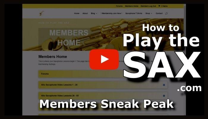 HowToPlayTheSax.com Members Behind The Scenes