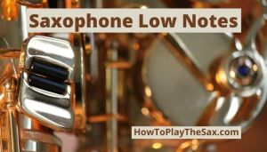 Saxophone Low Notes