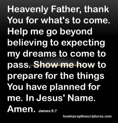thank you for what is to come james 5-7