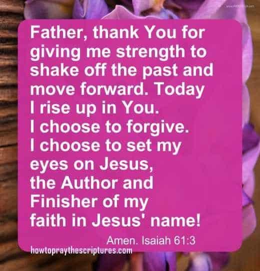 how to pray isaiah 613