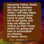 How To Pray Habakkuk 2:2