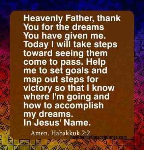 How To Pray Habakkuk 2:2