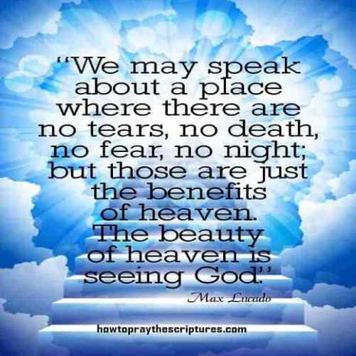 heaven encouragement quotes