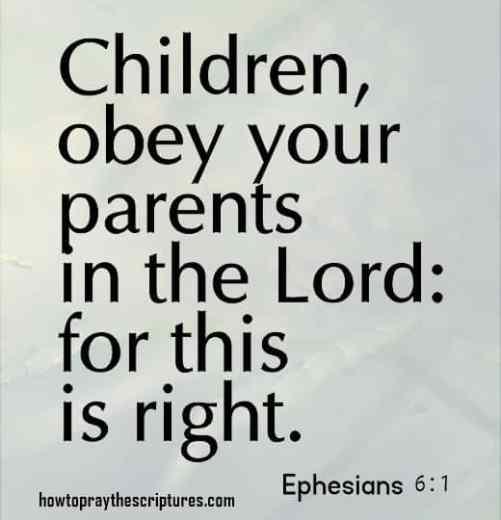children open your parents