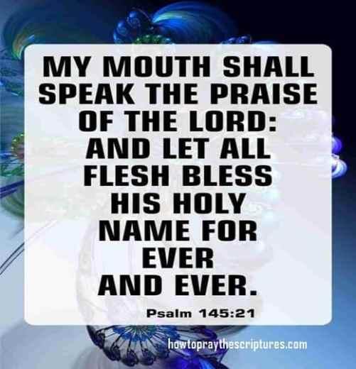 famous psalm bible verses
