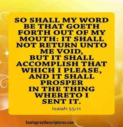 so shall my word be that isaiah 55-11
