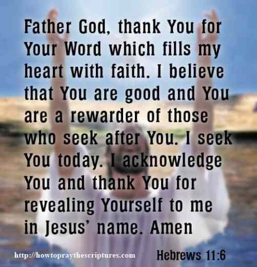How To Pray When Seeking God