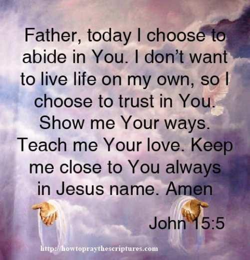 Teach Me Your Love Prayer