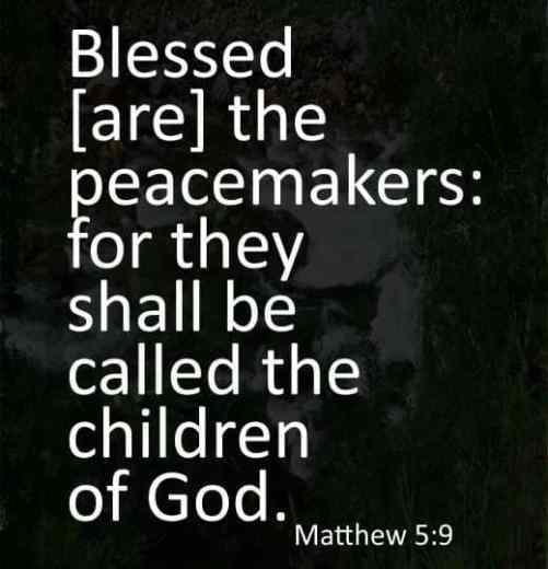 short peace bible verses