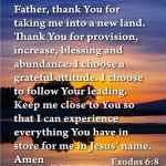 Prayer To Thank God For His Provision