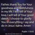 Prayer To Tell God You Love Him
