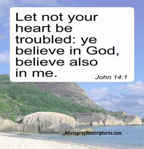 Let Not Your Heart Be Troubled Ye Believe In God