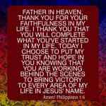 Prayer To Keep Believing In Father