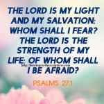 The LORD Is My Light And My Salvation Psalms 27-1