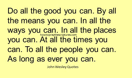 John Wesley Quotes: 11 Powerful Sayings