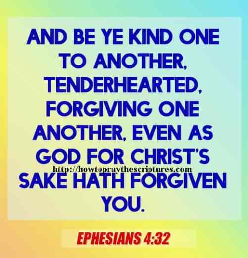 And Be Ye Kind One To Another Ephesians 4-32